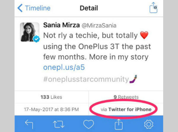 sania-mirza-promotes-one-plus-3t-using-her-iphone-gets-trolled-on-twitter