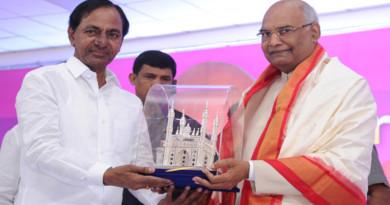 cm-kcr-grand-welcome-to-nda-presidential-candidate-ram-nath-kovind-on-visit-of-telangana