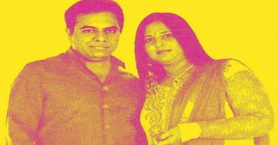 ktr-and-his-wife-photos-on-chenetha-saree