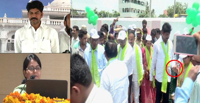 mla-b-shankar-nayak-misbehaves-with-woman-collector