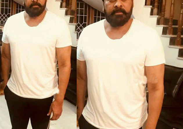 chiru-changes-his-look-for-syeraa
