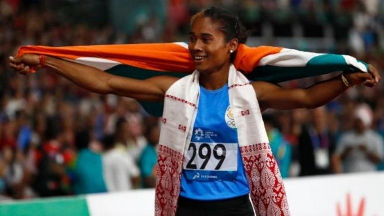hima das win fifth gold medal