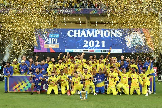 IPL 2021 Champions CSK